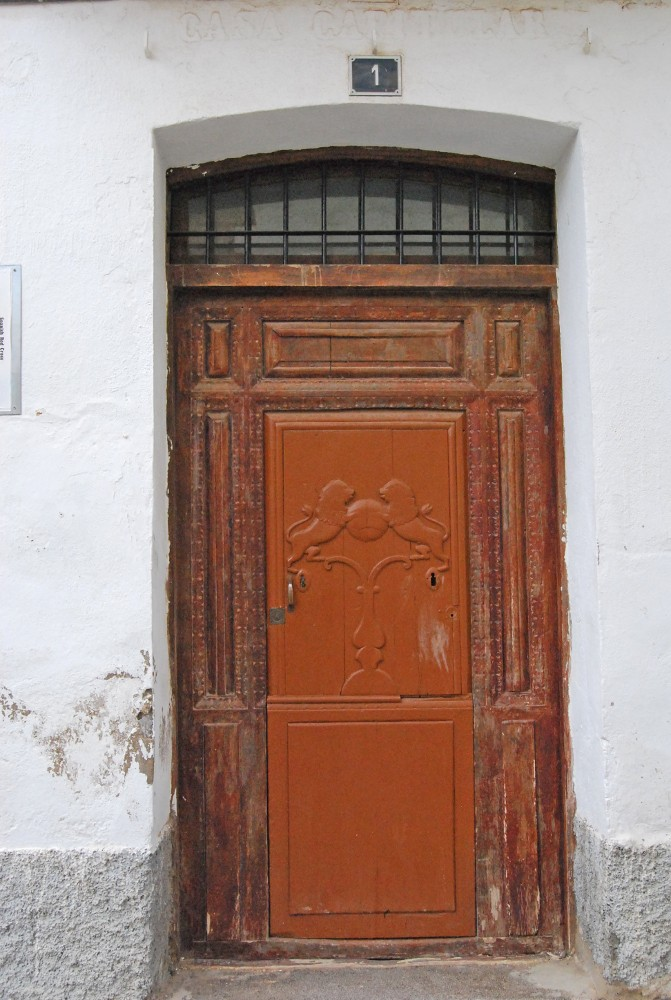 Porta de l'Ajuntament vell