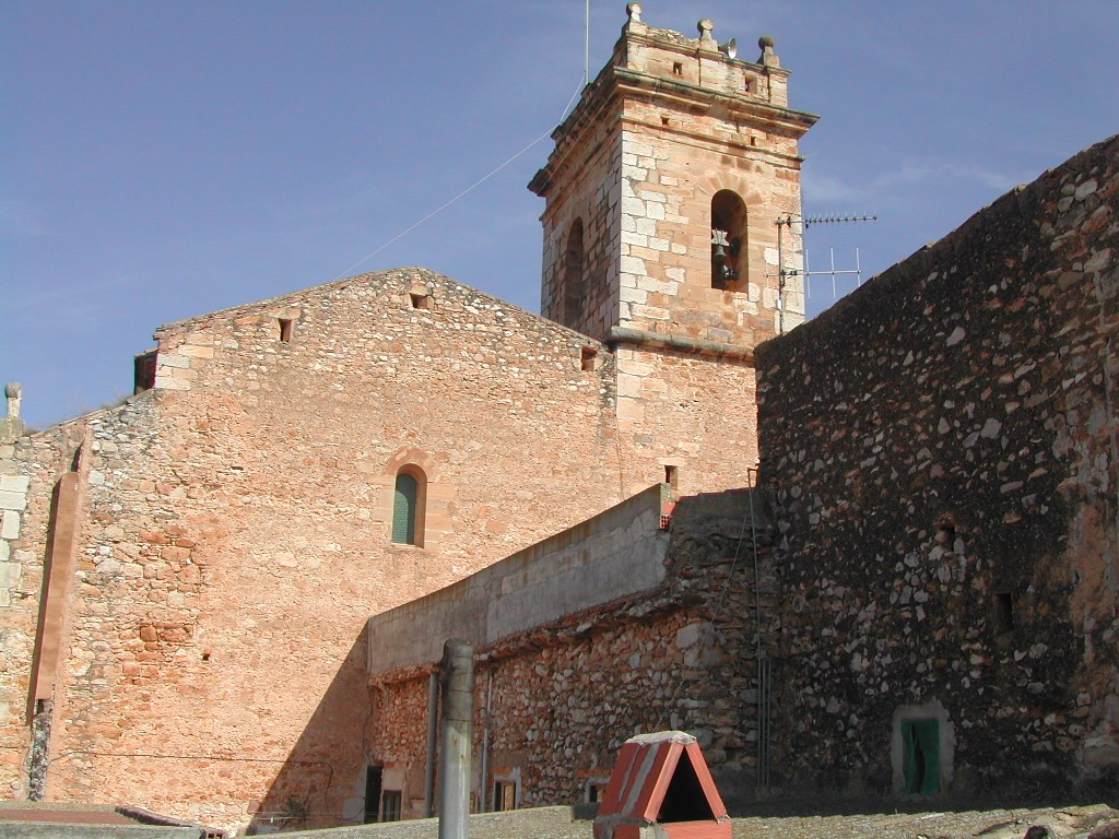 Lateral de l'Església parroquial
