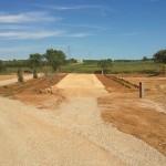 Tran restaurat del Camí dels Romans