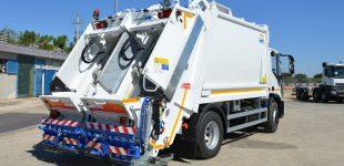 Nou camió de les escombraires
