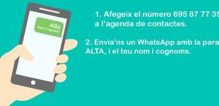 InfoBenlloc: canal de difusió per WhatsApp