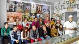 Visita a la fàbrica de torrons Agut de Benlloch durant la Mostra