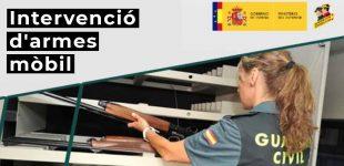 Intervenció Mòbil d'Armes a Cabanes