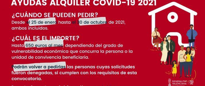 Ajudes Lloguer 2021