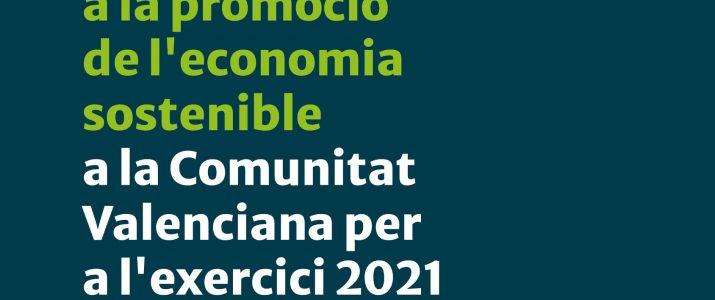 Ajudes Promoció Economia Sostenible