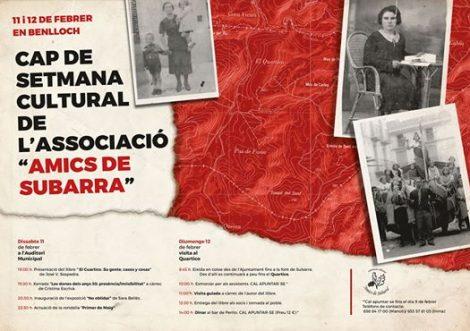AC Subarra: Cap de setmana Cultural