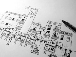 Elaboració cartell Mostra Benlloch 2017