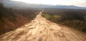 Imatge d'arxiu de camins de Benlloch acabats de millorar