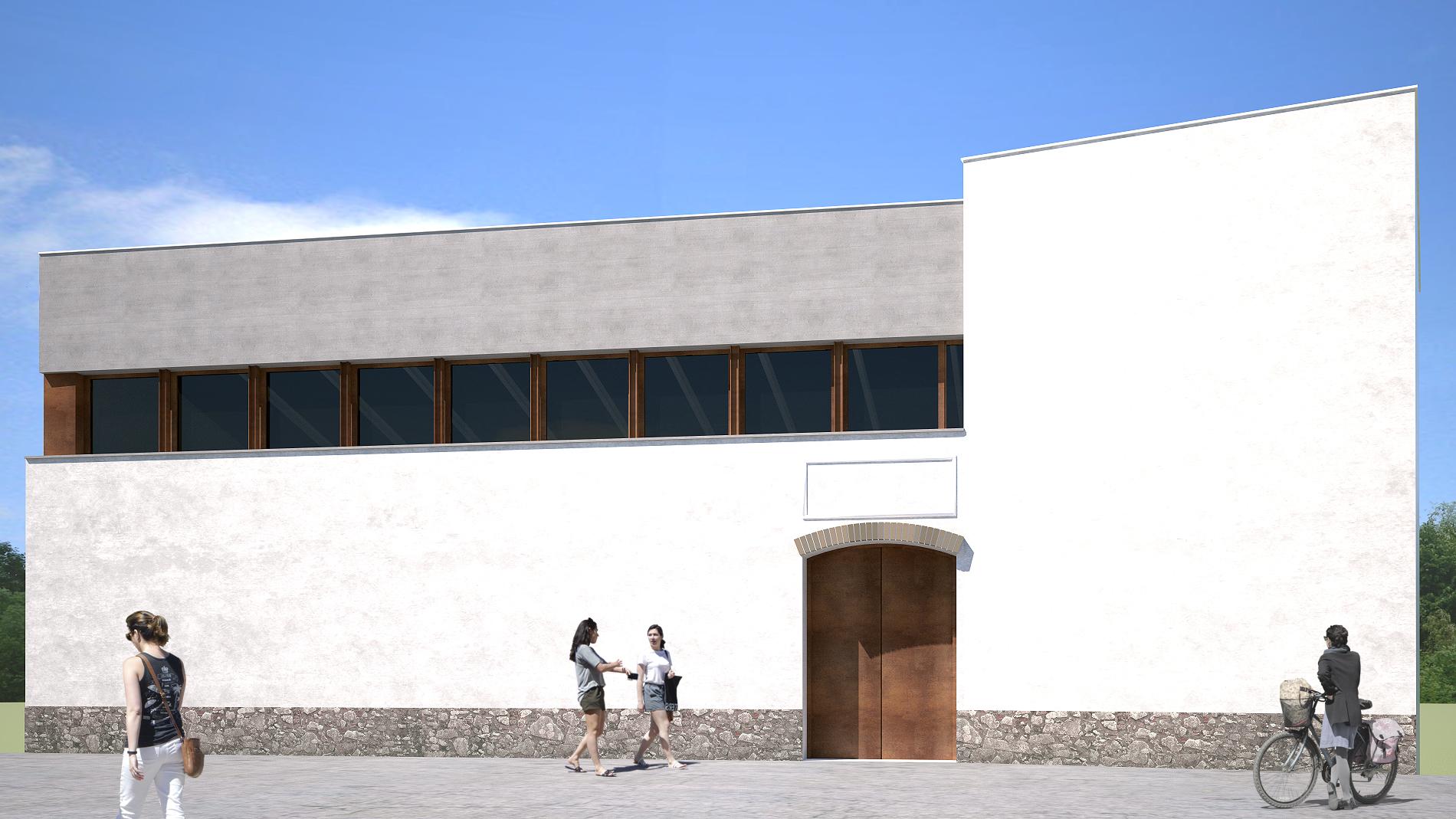 Façana Nord