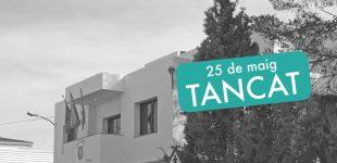 Divendres 25 de maig tanca l'Ajuntament