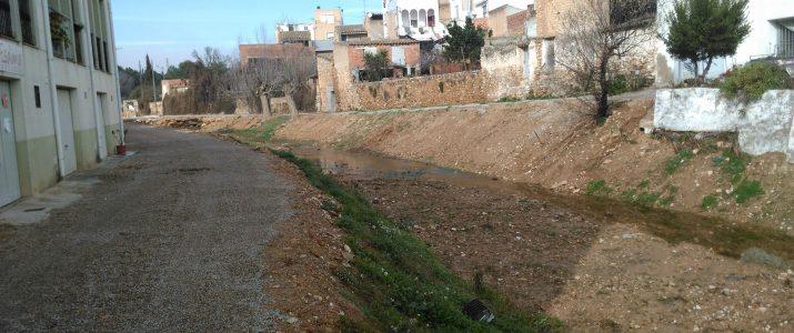 Pròximament començarà la canalització del Barranc de la Font