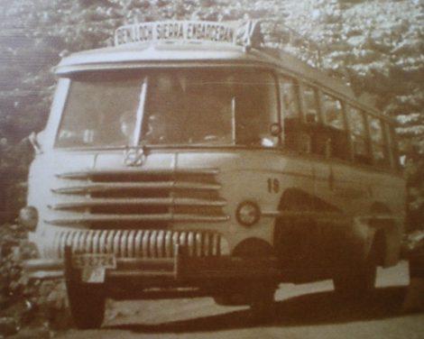 Conferència a l'auditori municipal. Història del transport en autobús a la província de Castelló i a Benlloch a càrrec de Pablo Marco.