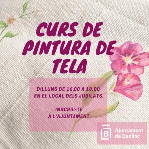 CURS GRATUÏT DE PINTURA DE TELA