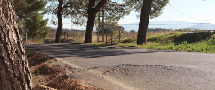 Benlloc revisa la seguretat de les carreteres d'accés al municipi
