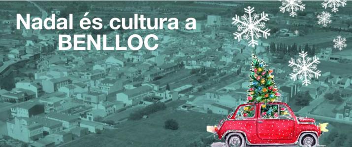Benlloc celebra el Nadal amb activitats culturals