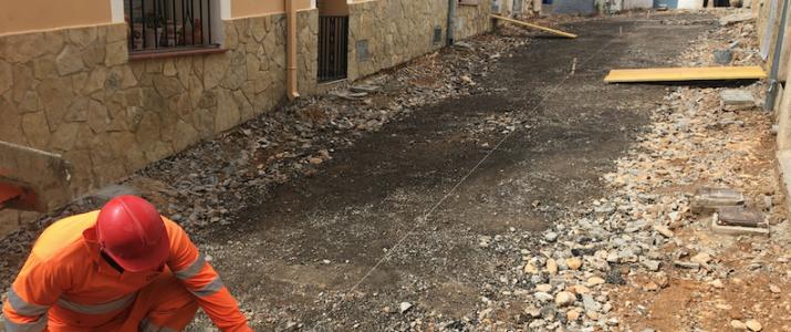 Comencen les obres de millora del nucli urbà