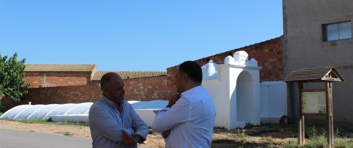 Diputació valora la Plaça de l'Aljub per a la seua remodelació