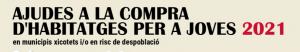 AJUDES A LA COMPRA D'HABITATGES PER A JOVES EN MUNICIPIS XICOTETS I/O EN RISC DE DESPOBLAMENT