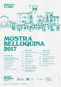 Cartell de la Mostra de Benlloch 2017