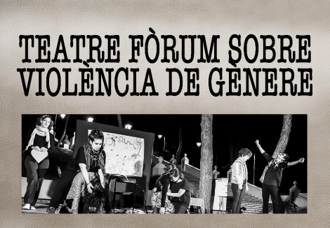 Teatre a l'Auditori. Actuació proposta cultural participativa. Teatre-fòrum contra la violència de gènere a càrrec de la companyia Cultura Crítica.