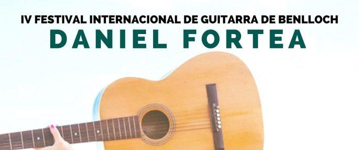 IV Festival Internacional de Guitarra Daniel Fortea