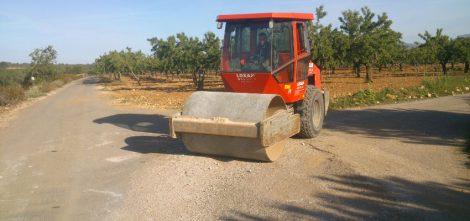 Reparació camins de Benlloch