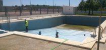 Posada a punt piscina de Benlloch