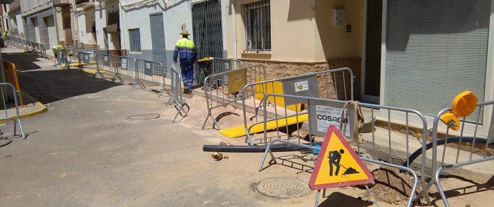 Renovació de la xarxa d'aigua corrent al carrer Calvari