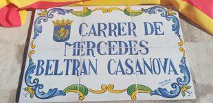 Carrer Mercedes Beltrán Casanova