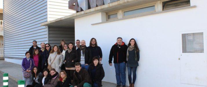 Alumnes i eAlumnes i equip docent del Taller d'Ocupació Vicultour de Benlloch