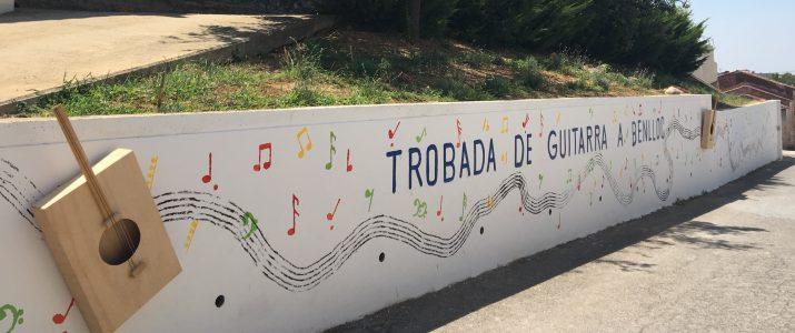 Un mural participatiu commemora la figura de Daniel Fortea