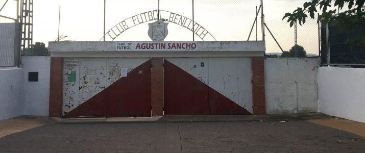 Benlloc acomiada el camp de futbol Agustín Sancho