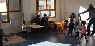 Nens i nenes estrenen les instal·lacions  del Bressol