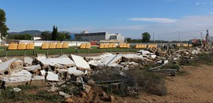 Obres de remodelación del camp de futbol