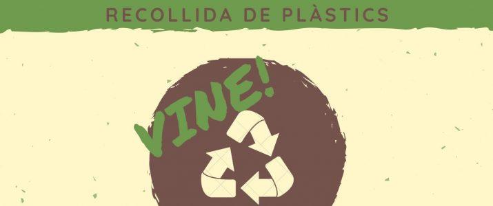 Pròxima recollida de plàstics a la rambla