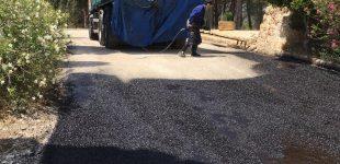 L'Ajuntament repara el camí de l'ermita