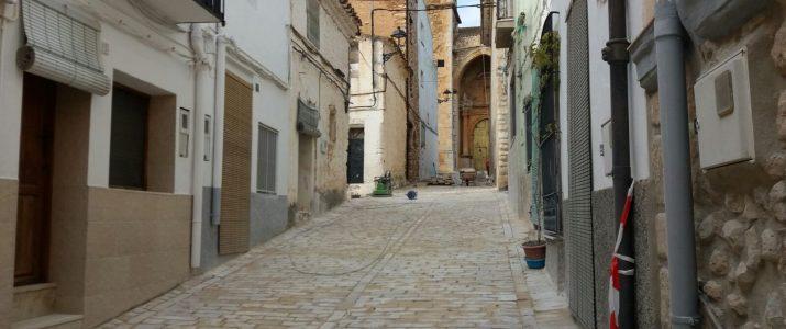 Les obres estan pràcticament acabades a aquest carrer