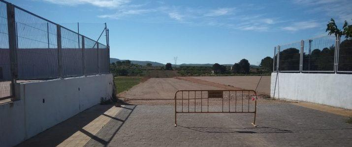 S'amplia la zona peatonal i carrer del País Valencià