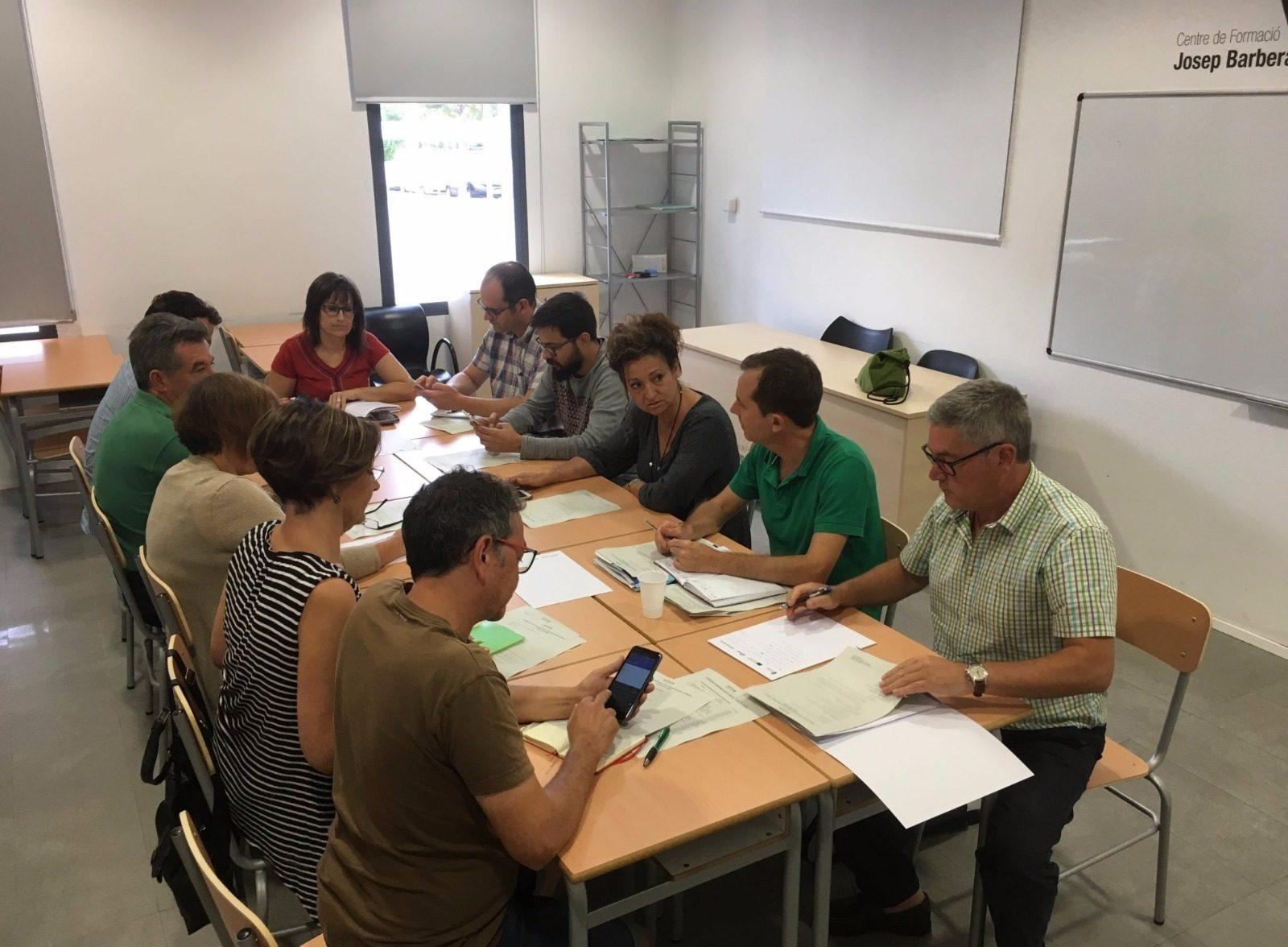 Reunió de tècnics del Pacte a Benicàssim/ Imatge d'arxiu