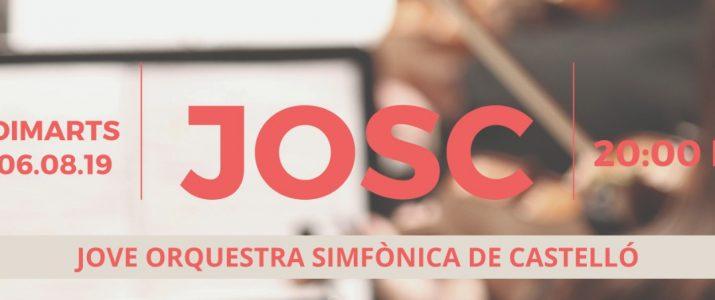Benlloc acull la Jove Orquestra Simfònica de Castelló