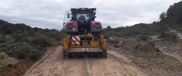 Reparació dels camins del Quartico i Subarra