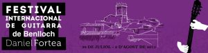 Festival Internacional de Guitarra de Benlloch DANIEL FORTEA