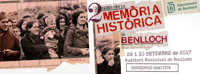 II Jornades per la Memòria Històrica de Benlloch