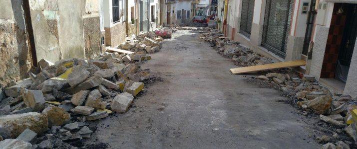 Quarta fase per arreglar els carrers del poble