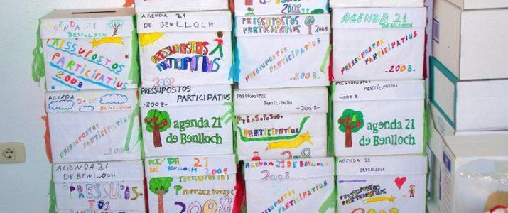 Urnes dels pressuposts participatius de Benlloch