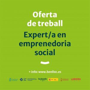 OFERTA TREBALL: EXPERT/A EMPRENEDORIA SOCIAL