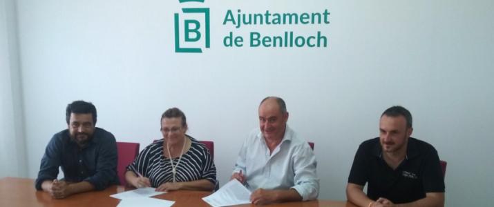 Hui dia 23 de juliol ha estat realitzat l'acte protocolari de Signatura convenni Ruta del Vi